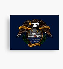 Death Before Dishonor - CG 87 WPB Canvas Print