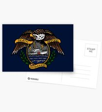 Death Before Dishonor - CG 87 WPB Postcards