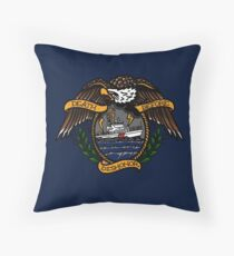 Death Before Dishonor - CG 87 WPB Throw Pillow