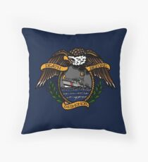 Death Before Dishonor - CG 47 MLB Throw Pillow