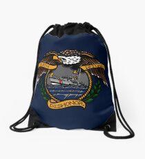 Death Before Dishonor - CG 47 MLB Drawstring Bag
