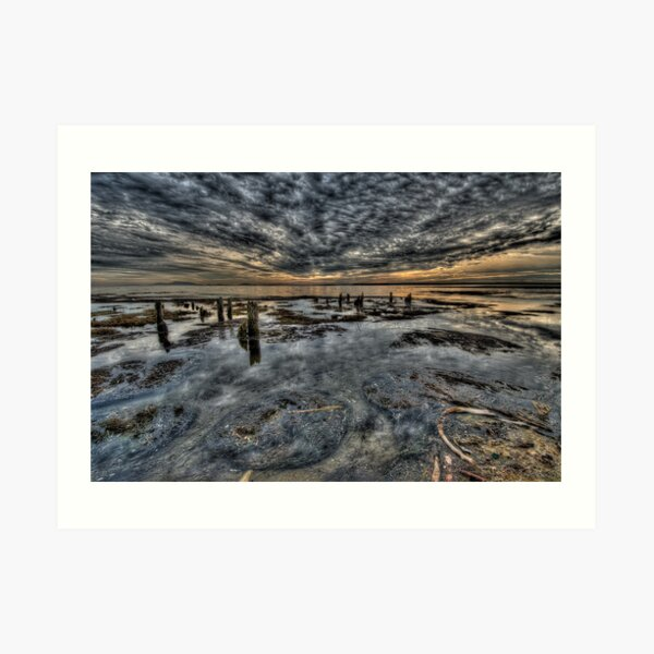 Bounrdary Bay Incoming Weather Art Print