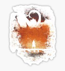 I am FIRE! Sticker