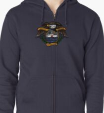 Death Before Dishonor - CG 270 Zipped Hoodie