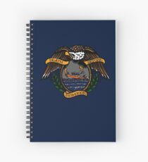 Death Before Dishonor - CG 25 RB-S Spiral Notebook