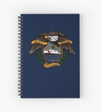 Death Before Dishonor - CG NSC Spiral Notebook