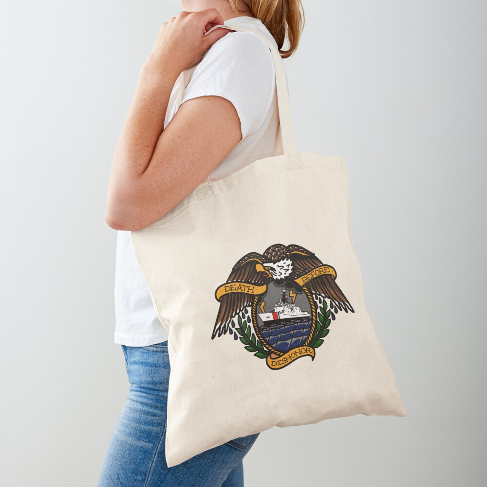 Death Before Dishonor - CG NSC Tote Bag