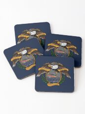 Death Before Dishonor - CG 45 RB-M Coasters