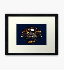 Death Before Dishonor - CG 45 RB-M Framed Print