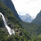 Milford Sound  - New Zealand  by Louise Linossi Telfer