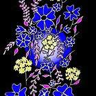 Blaues Boquet von Linda Callaghan
