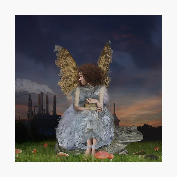 Angel Of The Guarded Nights Photographic Print