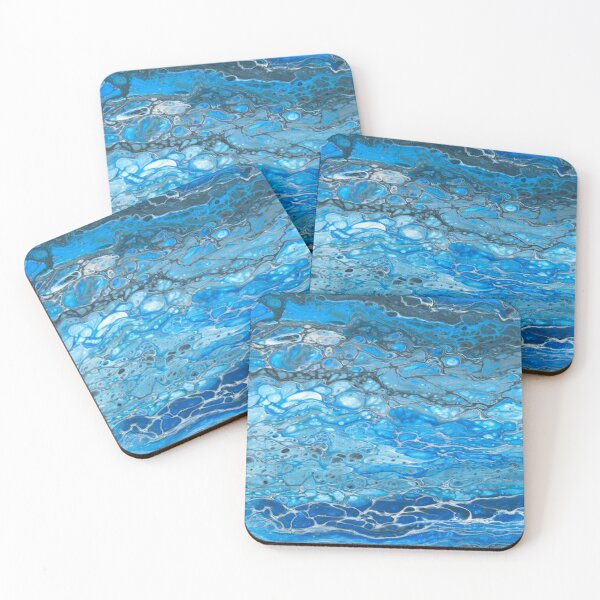 Waves 1 Coasters (Set of 4)