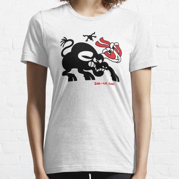 Santa Claus Meets a Bull Essential T-Shirt