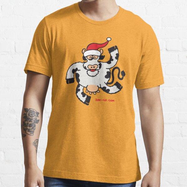 Christmas Cow Essential T-Shirt