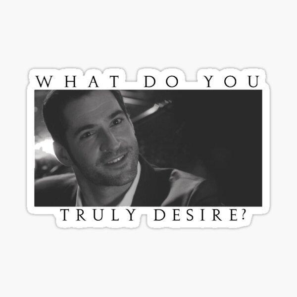 Que désirez-vous vraiment? Sticker