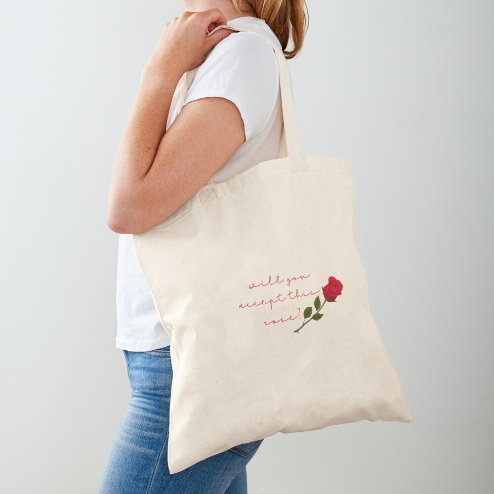 will you accept this rose? Tote Bag