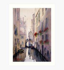 Venice Backstreet Art Print