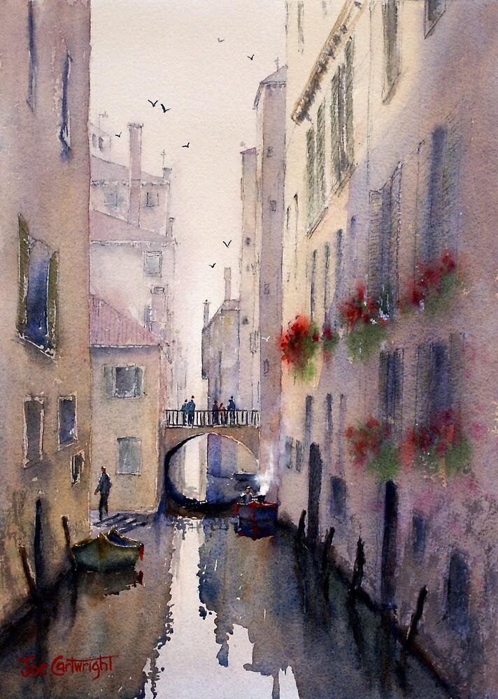 Venice Backstreet by Joe Cartwright