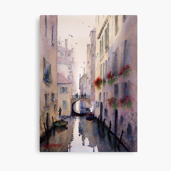 Venice Backstreet Canvas Print