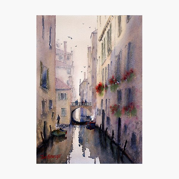 Venice Backstreet Photographic Print