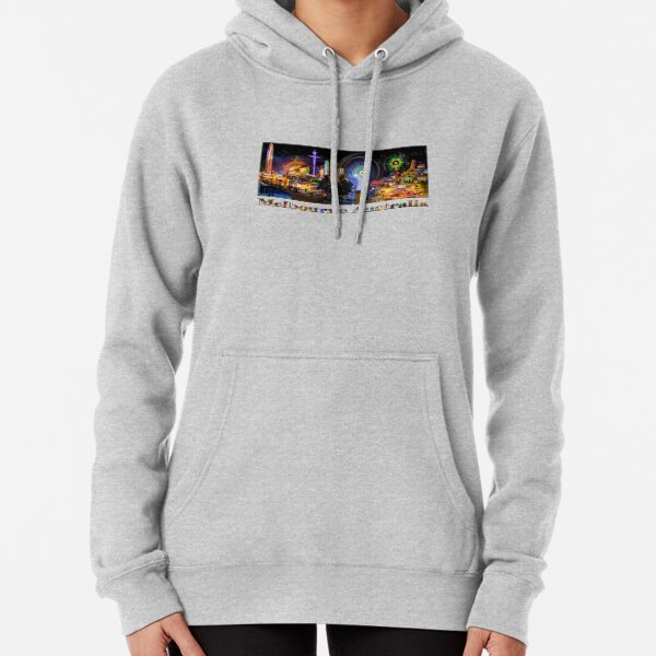 Fairground Attraction (full panoramic image) Pullover Hoodie