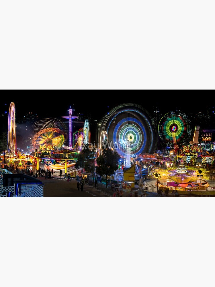 Fairground Attraction (full panoramic image) by RayW