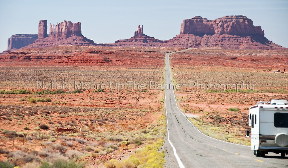 Monument Valley Utah, RV Camper Holiday by Noel Moore Up The Banner Photography