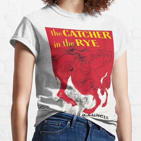 The Catcher in the Rye book cover poster Classic T-Shirt
