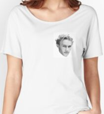 Heath Ledger Women's Relaxed Fit T-Shirt