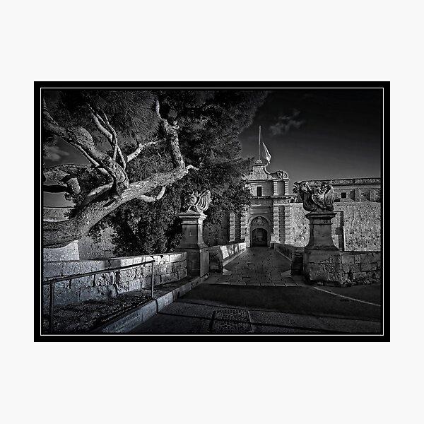 Mdina, MALTA ----THE SILENT CITY, portal 1450 AD Photographic Print