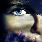 Blues de plume  by Christine LEBRASSEUR