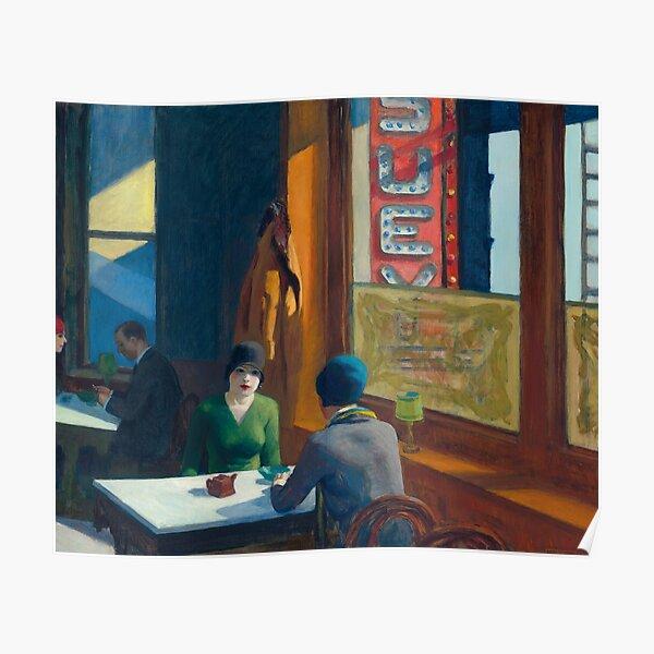 Edward Hopper - Chop Suey Poster