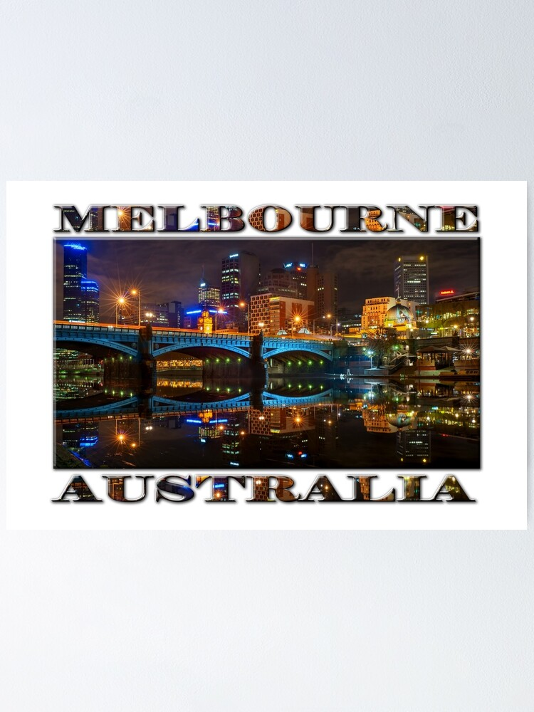Alternate view of Reflective City (widescreen poster edition on white) Poster
