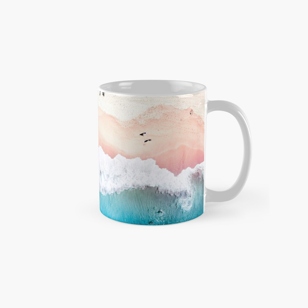 Aerial Sandy Beach Mug