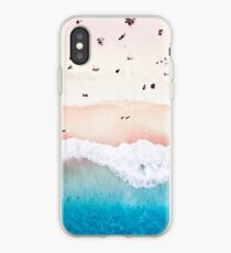 Aerial Sandy Beach iPhone Case
