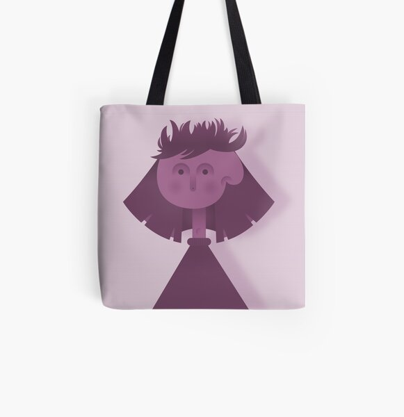 Messy Hair Day All Over Print Tote Bag