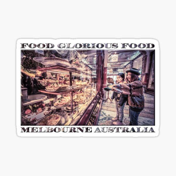 Food Glorious Food Sticker