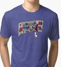 Which Duck to Be Today? Tri-blend T-Shirt