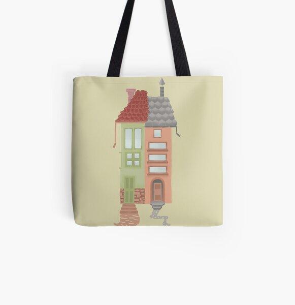 European Architecture All Over Print Tote Bag