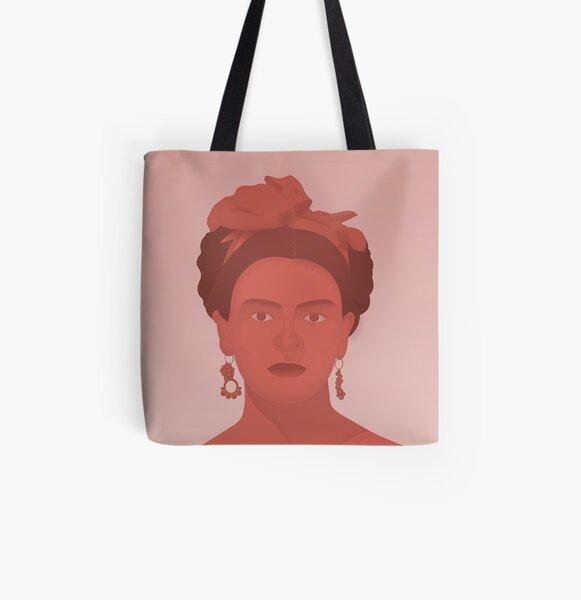 Frida All Over Print Tote Bag