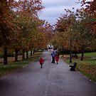 October fun in Pittencrieff Park,Dunfermline by biddumy
