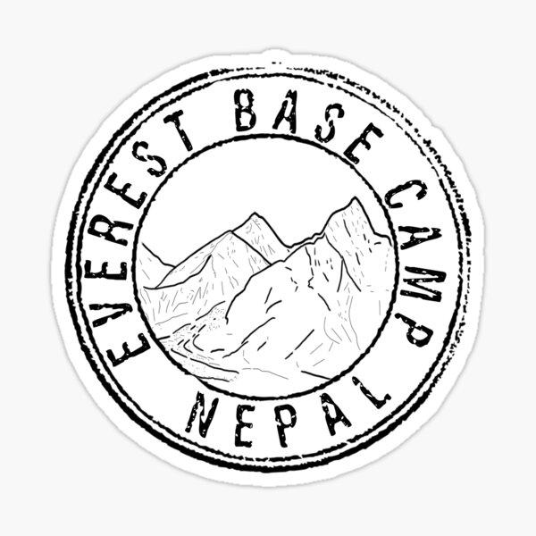 Everest Base Camp Nepal Sticker