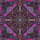 Mandala Tile Kaleidoscopic 04808 by Master S P E K T R