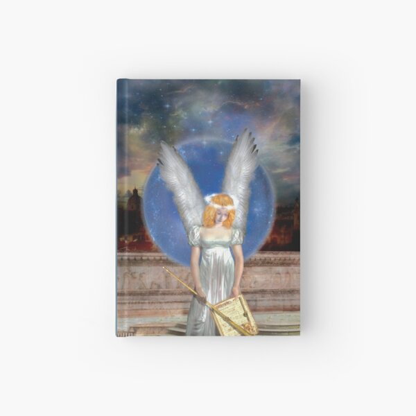 The Angel Of Jubiliation Rests Hardcover Journal