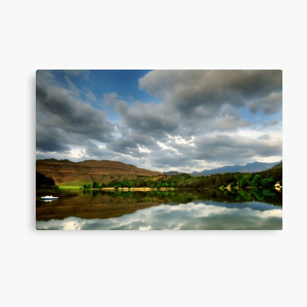 Naverone reflection - South Africa Canvas Print