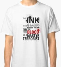 Inky Martyr Classic T-Shirt