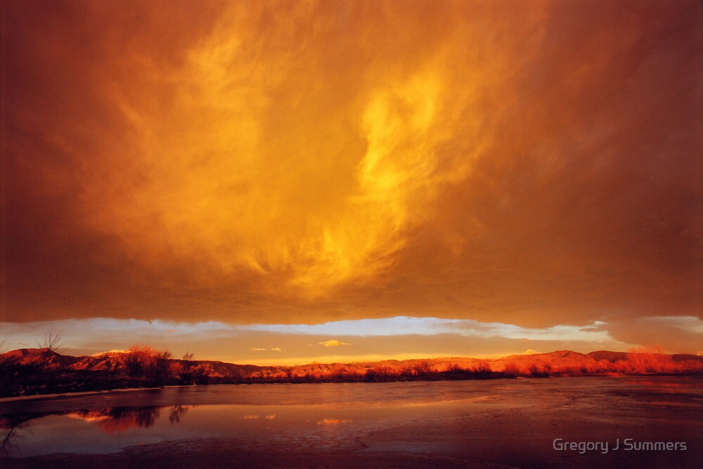 Flash At Sunrise by Gregory J Summers