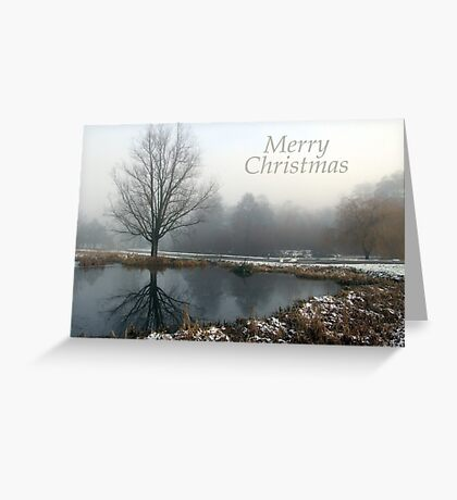 Still - Christmas Card Greeting Card