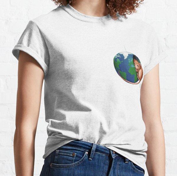 mouse earth T-shirt classique